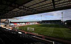 General view of the ground before the Scottish Premiership match at Dens Park, Dundee.