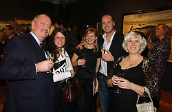 Left to right, GEORGE DOUGLAS, KATE ANDERSON, ALEX FRANCIS, KEITH DOUGLAS and ABBEY HIGNELL at an auction in aid of The Game Conservancy Trust held at Christie's, St.James's London on 12th December 2006.<br /><br />NON EXCLUSIVE - WORLD RIGHTS