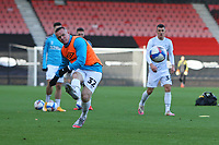 Football - 2020 / 2021 Sky Bet Championship - AFC Bournemouth vs. Derby County - The Vitality Stadium<br /> <br /> Wayne Rooney of Derby warms up on his return after his 14 day isolation due to the COVID pandemic at the Vitality Stadium (Dean Court) Bournemouth <br /> <br /> COLORSPORT/SHAUN BOGGUST