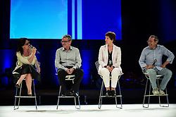 Matinas Suzuki, Luiz Araújo, Claudia Laitano e Sonia Bridi durante o VOX - The Joy of Sharing, evento que  pretende provocar reflexões sobre o futuro da comunicação a partir do compartilhamento de conteúdo e experiências. FOTO: Vinícius Costa/ Agência Preview
