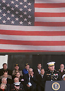 General James T. Conway, Commandant, U.S. Marine Corps at The 2008 Veterans Day  Ceremonies at the Intrepid Sea, Air, & Space Musem on November 11, 2008 in NYC