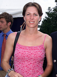 MISS TAMARA VESTEY polo playing frind of HRH Prince William, at a polo match in Berkshire on 25th July 1999.MUM 98 wolo