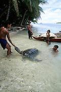Ifalik Island, Yap, Micronesia