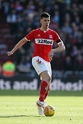 Middlesbrough's Daniel Ayala during the Sky Bet Championship match at The Riverside Stadium, Middlesbrough.