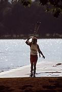 Barcelona; SPAIN; 1992 Olympic Regatta. HEDDLE, Kathleen Lake Banyoles; Nr Barcelona SPAIN; [Photo; Peter Spurrier/Intersport-images]
