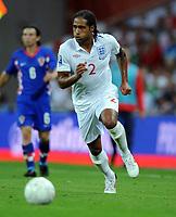 Glen Johnson<br /> England 2009/10<br /> England V Croatia (5-1) 09/09/09 <br /> World Cup Qualifier 2010 at Wembley Stadium<br /> Photo Robin Parker Fotosports International