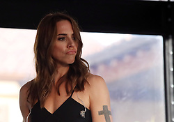Melanie Jayne Chisholm known as Melanie C at the Franciacorta Outlet of Rodengo Saiano  in Rodengo-Saisano BS, Italy on June 19, 2018.