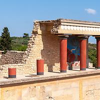 Knossos - Crete - Greece