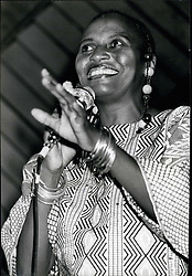 Mar. 31, 2012 - Miriam Makeba a Leading South African Siger, now living in West African, Born April 3, 1932 in Johannesburg, married to Stockly Carmichael. (Credit Image: © Keystone Pictures USA/ZUMAPRESS.com)