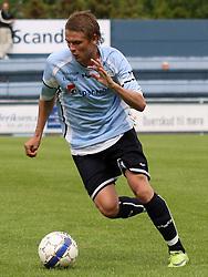 FODBOLD: Dennis Borup (Helsingør) under kampen i Danmarksserien, pulje 1, mellem Elite 3000 Helsingør og Frederikssund IK den 19. juni 2010 på Helsingør Stadion. Foto: Claus Birch