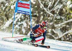 Florian Eisath (ITA) competes during 9th Men's Giant Slalom race of FIS Alpine Ski World Cup 55th Vitranc Cup 2016, on March 4, 2016 in Kranjska Gora, Slovenia. Photo by Vid Ponikvar / Sportida