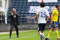 Preston North End manager Alex Neil shouts instructions to his team from the technical area<br /> <br /> Photographer Alex Dodd/CameraSport<br /> <br /> The EFL Sky Bet Championship - Leeds United v Barnsley - Thursday 16th July 2020 - Elland Road - Leeds<br /> <br /> World Copyright © 2020 CameraSport. All rights reserved. 43 Linden Ave. Countesthorpe. Leicester. England. LE8 5PG - Tel: +44 (0) 116 277 4147 - admin@camerasport.com - www.camerasport.com<br /> <br /> Photographer Alex Dodd/CameraSport<br /> <br /> The EFL Sky Bet Championship - Preston North End v Birmingham City - Saturday 18th July 2020 - Deepdale Stadium - Preston<br /> <br /> World Copyright © 2020 CameraSport. All rights reserved. 43 Linden Ave. Countesthorpe. Leicester. England. LE8 5PG - Tel: +44 (0) 116 277 4147 - admin@camerasport.com - www.camerasport.com