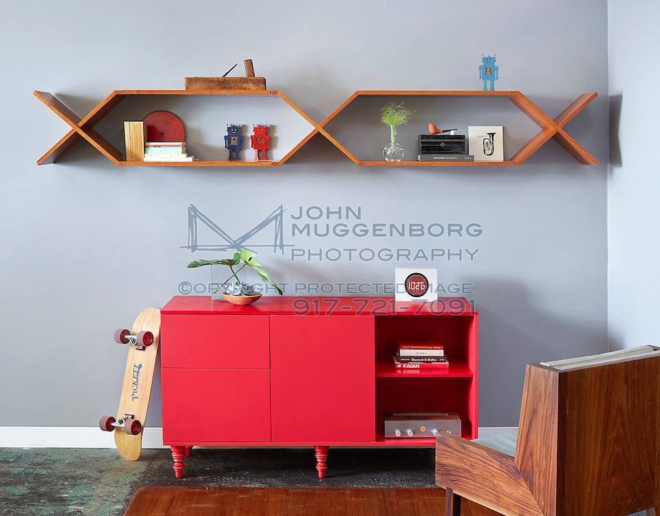 Furniture designed and built by Jeremy Pickett at Pickett Furniture.