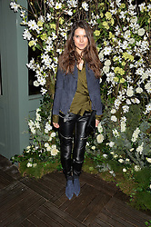 SARAH ANN MACKLIN at The Ivy Kensington Brasserie International Women's Day & Terrace Launch Party held at The Ivy Kensington Brasserie, 96 Kensington High Street, London on 8th March 2016.