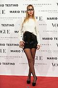 Sara Da at Vogue December Issue Mario Testino Party