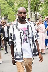 Virgil Ablo arriving at Heron Preston fashion Show during Menswear Spring/Summer 2020 on June 18, 2019 in Paris, France. Photo by Nasser Berzane/ABACAPRESS.COM