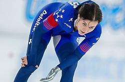 10-12-2016 NED: ISU World Cup Speed Skating, Heerenveen<br /> 1500 m women / Heather Bergsma USA