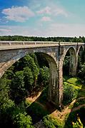 Stańczyki. Zabytkowe wiadukty kolejowe nieczynnej już linii Gołdap-Żytkiejmy, tzw. Mosty w Stańczykach