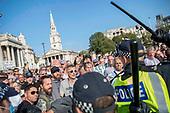 Britain Virus Outbreak Protests