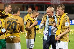 Cheftræner Glen Riddersholm (SønderjyskE) efter finalen i Sydbank Pokalen mellem AaB og SønderjyskE den 1. juli 2020 i Blue Water Arena, Esbjerg (Foto Claus Birch).