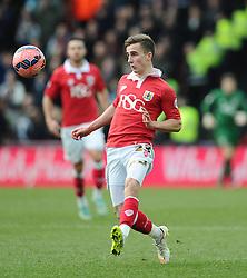 Bristol City's Joe Bryan  - Photo mandatory by-line: Joe Meredith/JMP - Mobile: 07966 386802 - 25/01/2015 - SPORT - Football - Bristol - Ashton Gate - Bristol City v West Ham United - FA Cup Fourth Round