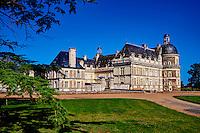 France, Maine et Loire (49), Saint Georges sur Loire, Château de Serrant // France, Maine et Loire, Saint Georges sur Loire, Serrant Castle