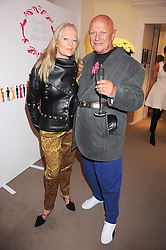 CLARA FISCHER and actor STEVEN BERKOFF at the annual Sotheby's Summer Party held at their auction rooms 34-35 New Bond Street, London W1 on 19th June 2008.<br /><br />NON EXCLUSIVE - WORLD RIGHTS