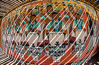 A mural at the Indian Pueblo Culture Center, Albuquerque, New Mexico USA