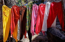 Locally produced items for tourists for sale in Setti-Fatma in the Ourika Valley, Morocco, North Africa<br /> <br /> (c) Andrew Wilson | Edinburgh Elite media
