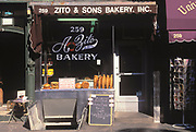 Zito's Bakery closed in 2004, Bleecker Street, Greenwich Village, Manhattan, New York