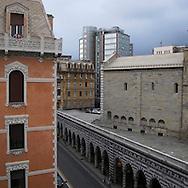 Genova, Chiesa di Santo Stefano, via XX settembre