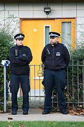 © Licenced to London News Pictures. File photo dated 24/11/13 of boarded up windows in Peckford Place, Brixton, south London, where Aravindan Balakrishnan and his wife Chanda allegedly held three women.<br /> Photo Credit: Ben Cawthra/LNP