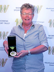 Outstanding Contribution award presented to former England captain and founding member of the Rugby Football Union for Women Carol Isherwood during the Women's Sport Trust #BeAGameChanger Awards, Troxy.