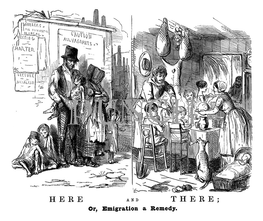 Here and There; Or, Emigration a Remedy.
