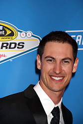 Joey Logano attending the 2016 NASCAR Sprint Cup Series Awards