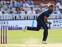 July 14, 2018 - London, Greater London, United Kingdom - England's Liam Plunkett .during 2nd Royal London One Day International Series match between England and India at Lords Cricket Ground, London, England on 14 July 2018. (Credit Image: © Action Foto Sport/NurPhoto via ZUMA Press)