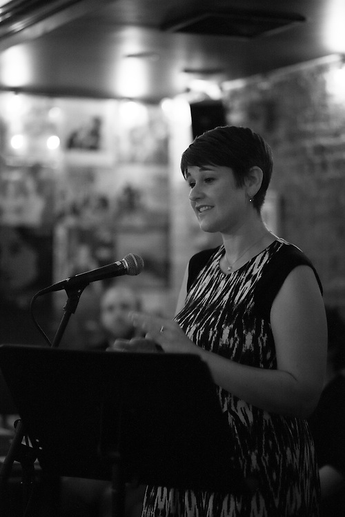 HiFi Reading Series' event with Julia Fierro, author of Cutting Teeth. Featuring up and coming writers Myung Joh, Matt Matros and Orli Van Mourik