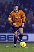 Fotball - Nationwide Division 1 - 21.12.2002<br /> Milwall v Wolves <br /> Kevin Cooper - Wolves<br /> Foto: Roger Parker, Digitalsport