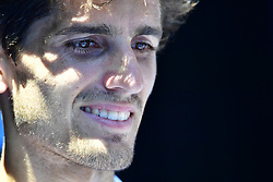January 24, 2019 - Melbourne, Australia - Australian Open - Pierre Hugues Herbert   double - France (Credit Image: © Panoramic via ZUMA Press)