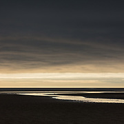 Last light over the Solway Firth from Mersehead, Dumfries and Galloway, Scotland.