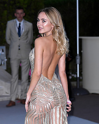 Kimberley Garner attending the 26th amfAR Gala held at Hotel du Cap-Eden-Roc during the 72nd Cannes Film Festival. Picture credit should read: Doug Peters/EMPICS