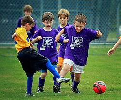 21 September 2013. Carrolton Boosters Soccer. New Orleans, Louisiana. <br /> U8 soccer action. Wildcats v Dragons.<br /> Photo; Charlie Varley