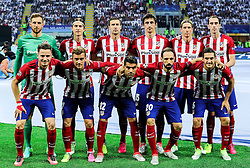 28-05-2016 ITA, UEFA CL Final, Atletico Madrid - Real Madrid, Milaan<br /> Team Atletico<br /> <br /> ***NETHERLANDS ONLY***