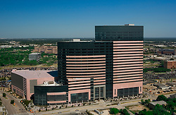 Texas Medical Center - MD Anderson Cancer Center, Mid Campus Building in Houston, Texas.