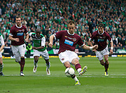 The William Hill Scottish FA Cup Final 2012 Hibernian Football Club v Heart Of Midlothian Football Club..19-05-12...Hearts Danny Grainger scoring from the spot to make it 3-1         during the William Hill Scottish FA Cup Final 2012 between (SPL) Scottish Premier League clubs Hibernian FC and Heart Of Midlothian FC. It's the first all Edinburgh Final since 1986 which Hearts won 3-1. Hearts bid to win the trophy since their last victory in 2006, and Hibs aim to win the Scottish Cup for the first time since 1902....At The Scottish National Stadium, Hampden Park, Glasgow...Picture Mark Davison/ ProLens PhotoAgency/ PLPA.Saturday 19th May 2012.