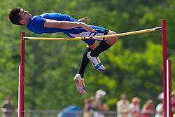 boys high jump, Maine State Track & FIeld Meet - Class B