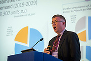 NO FEE PICTURES                                                                                                                                              10/10/19 David Duffy, Director, Property Industry Ireland, at the Irish Council for Social Housing (ICSH) Biennial Finance and Development Conference 2019 at the Clayton Whites Hotel, Wexford 10-11 October. The two-day conference brings together 300 delegates including active housing associations, currently facing the challenge of growing their housing stock and making it more environmentally sustainable. At the event, stakeholders from the public, not-for-profit and private sectors will discuss how collaboration and innovation can develop the sector's capacity to build more sustainable and climate resilient communities.Picture: Arthur Carron