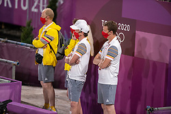 Desmedt Jef, Meier Kai-Steffen, D'Hoore Brecht<br /> Olympic Games Tokyo 2021<br /> © Hippo Foto - Dirk Caremans<br /> 30/07/2021