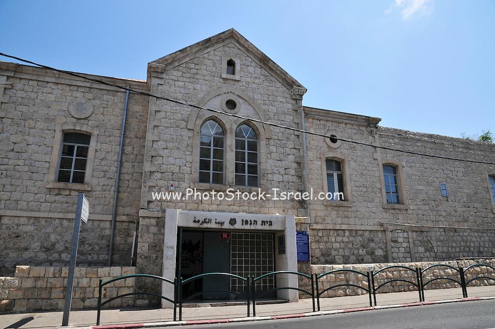 Israel, Haifa, Wadi Nisnas, Gefen House a Jewish Arab culture centre
