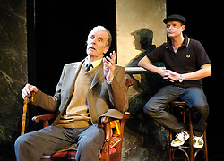 Life After Scandal<br /> by Robin Soans<br /> at the Hampstead Theatre, London, Great Britain<br /> press photocall<br /> 21st September 2007<br /> <br /> Tim Preece (as Lord Edward Montagu) ; Simon Coates (as Duncan Roy)<br /> <br /> Photograph by Elliott Franks